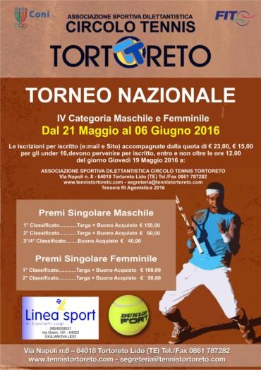 TORNEO NAZIONALE 4^ CATEGORIA Maschile & Femminile