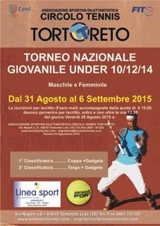 TORNEO GIOVANILE UNDER 10/12/14 MASCHILE E FEMMINILE