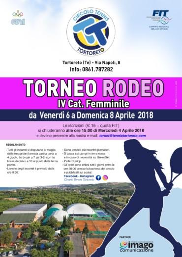 TORNEO RODEO FEMMINILE IV CATEGORIA