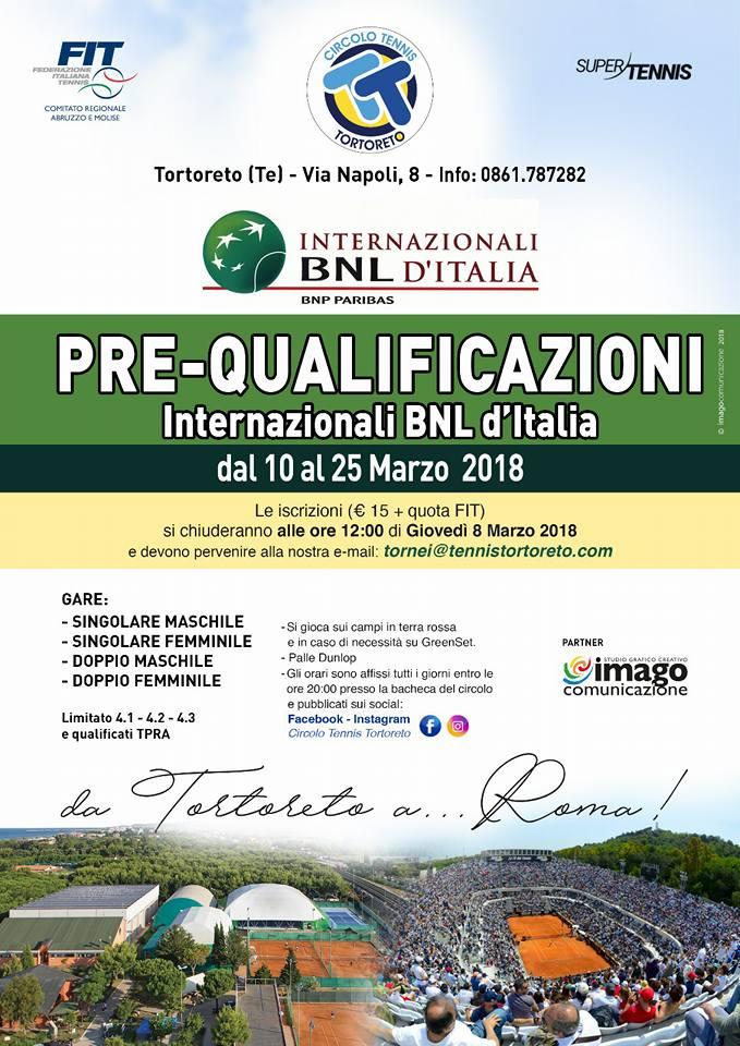 Prequalificazioni Internazionali BNL d'Italia